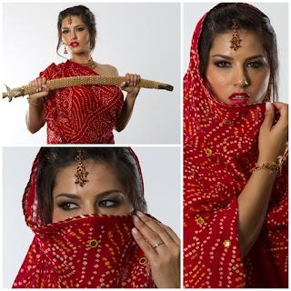 Sunny Leone Treaditional wear Photoshoot