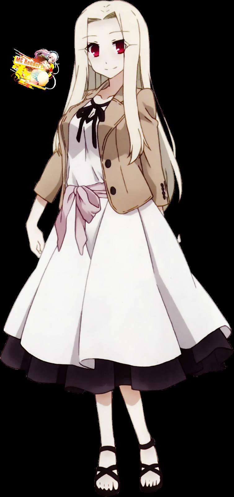 Tags: Anime, Render,  Fate kaleid liner Prisma Illya,  Fate series,  Irisviel von Einzbern,  Milf, PNG, Image, Picture