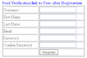 How to Send an Email with Verification link to user in Asp.net after registration