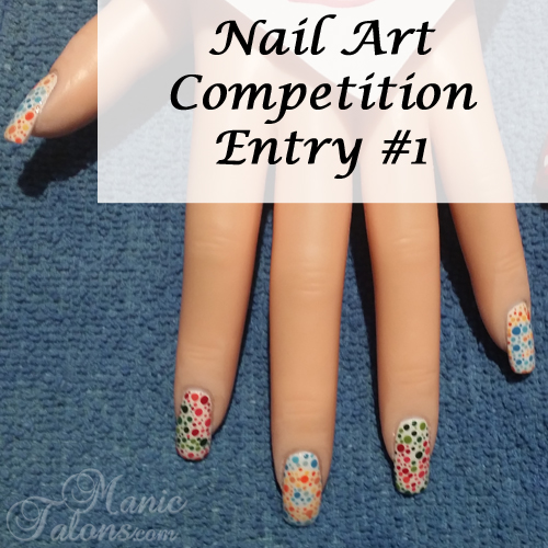 GCI Valentine's Day Nail Art Competition Entry 1