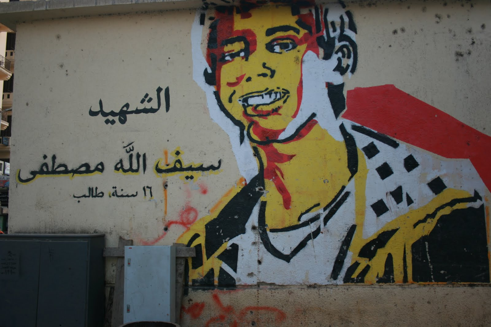 The Series Is The Brainchild Of Artist Ganzeer Aka Mohamed Fahmy In His Words The Goal Of The Project Is To