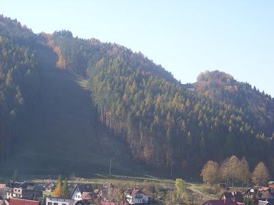 Szczawnica Palenica jesienią