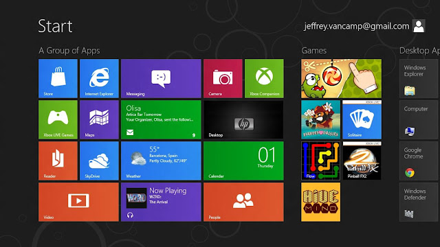 Latest windows 8 features