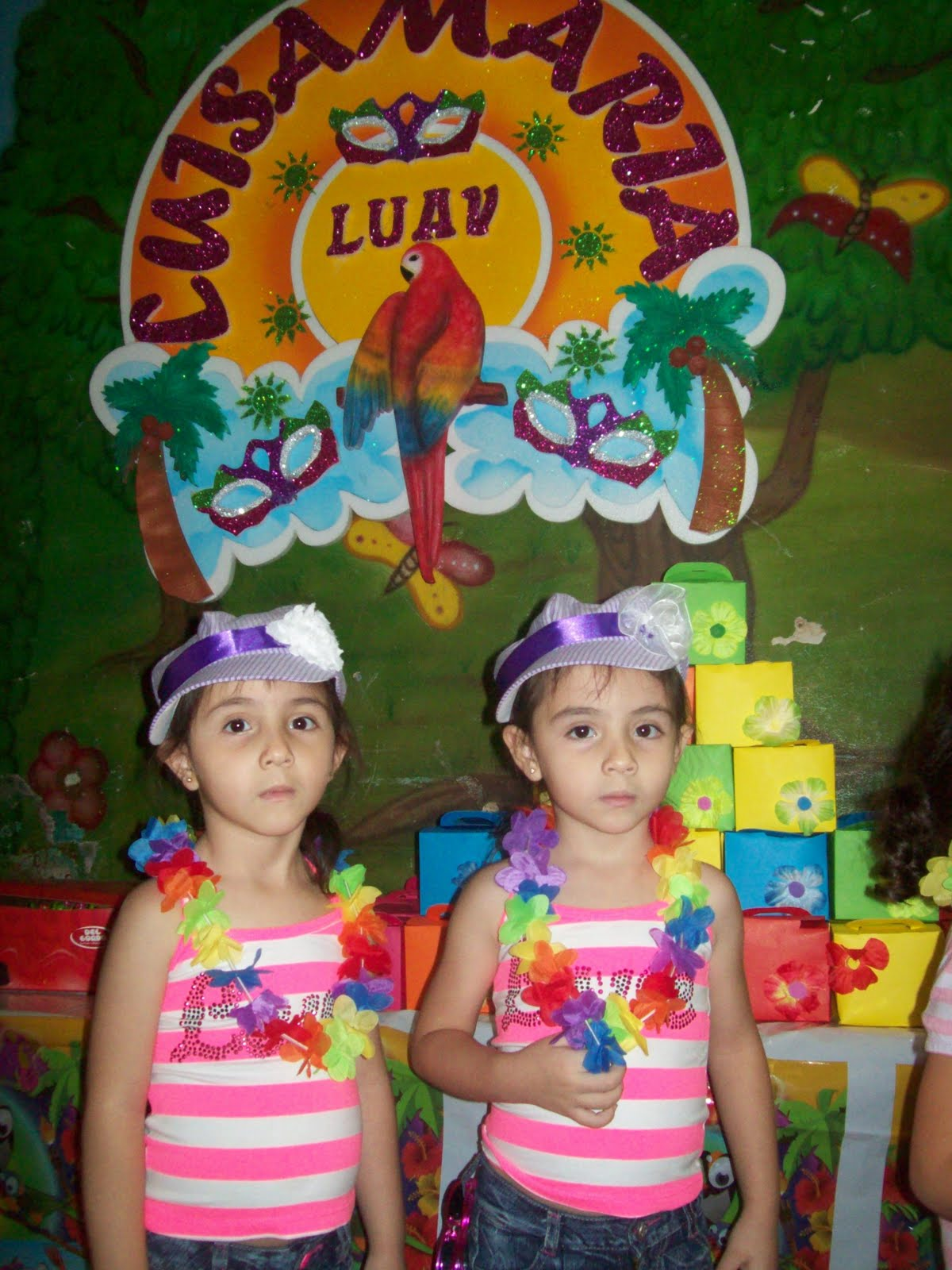 Decoración de fiestas infantiles hawaianas - Imagui