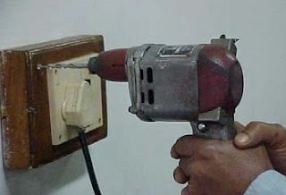 image Of hand drill machine