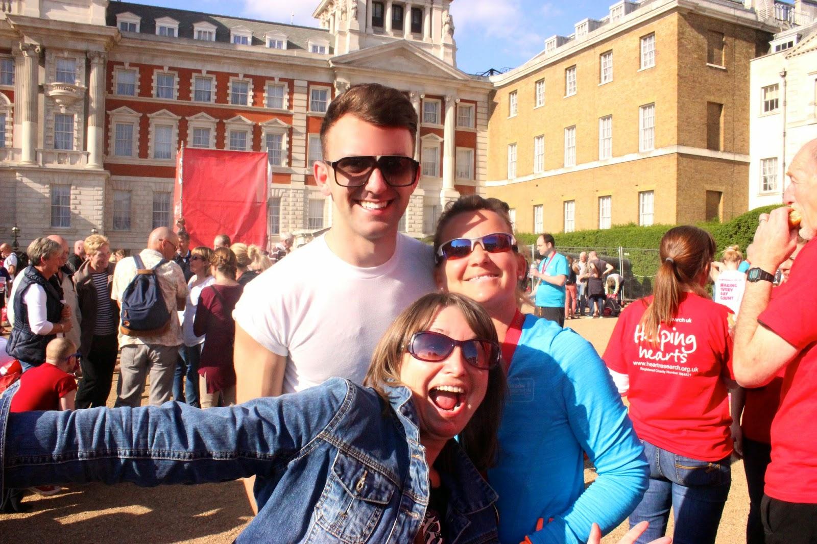 London Marathon 2014, That Guy Lukey, Fitness, Marathon, London, England, Virgin London Marathon 2014, blog, racing, running, sport, Marathon Running, Spectators, Marathon spectators, horse guards parade