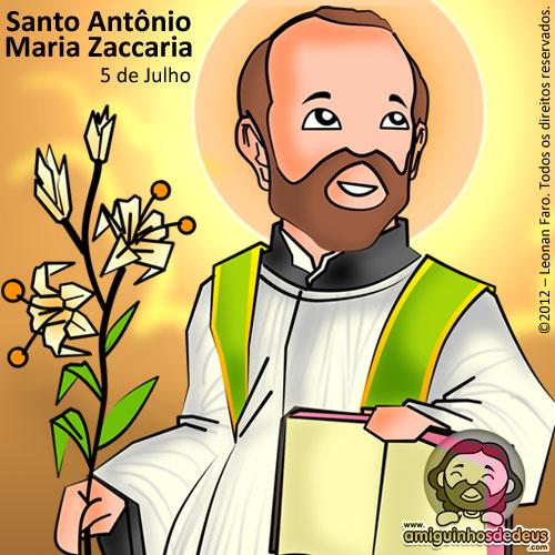 Santo Antônio Maria Zaccaria desenho