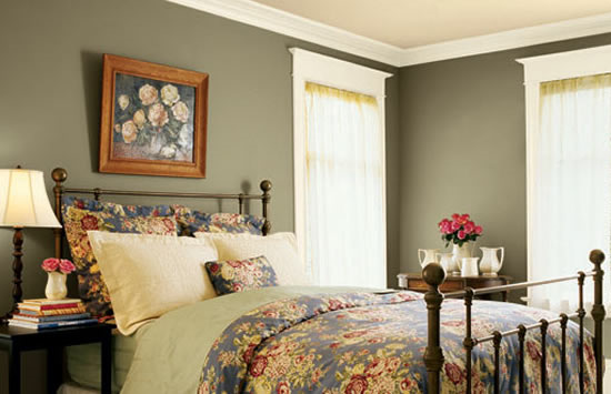 Making It Look More Stylish You Can Color One Wall Paint Color Ideas