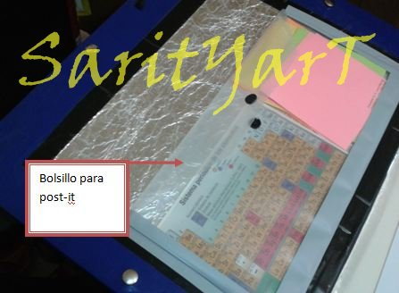 (how to) como hacer una carpeta : bolsillo para post-it