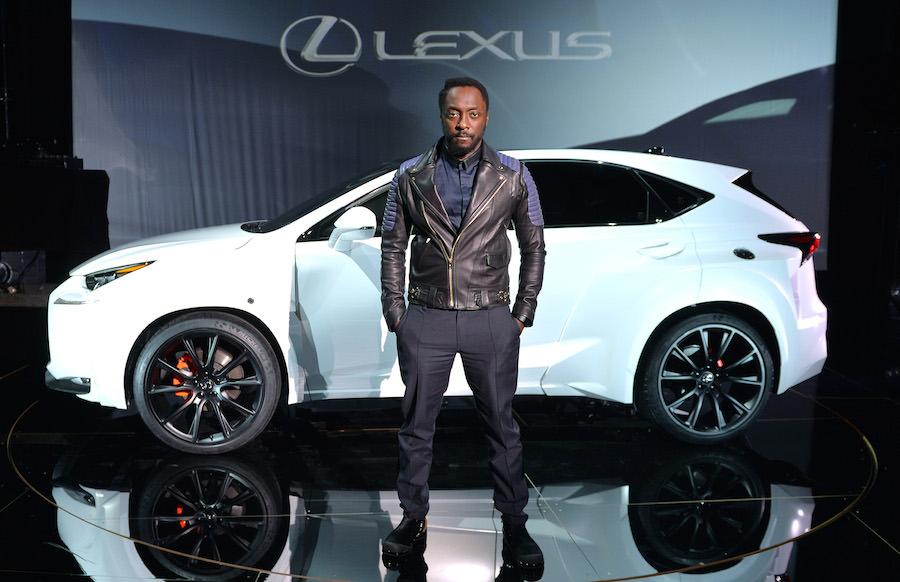 「ウィル・アイ・アム」とコラボした「レクサスNX」のワンオフモデルを公開!