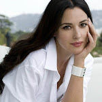 Monica Bellucci in White Spicy  Photoshoot
