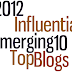 Join the Top 10 Emerging Influential Blogs for 2012 Writing Project