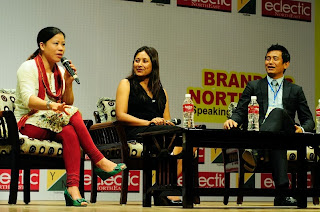 Mary Kom at Young Leader Connect 2013