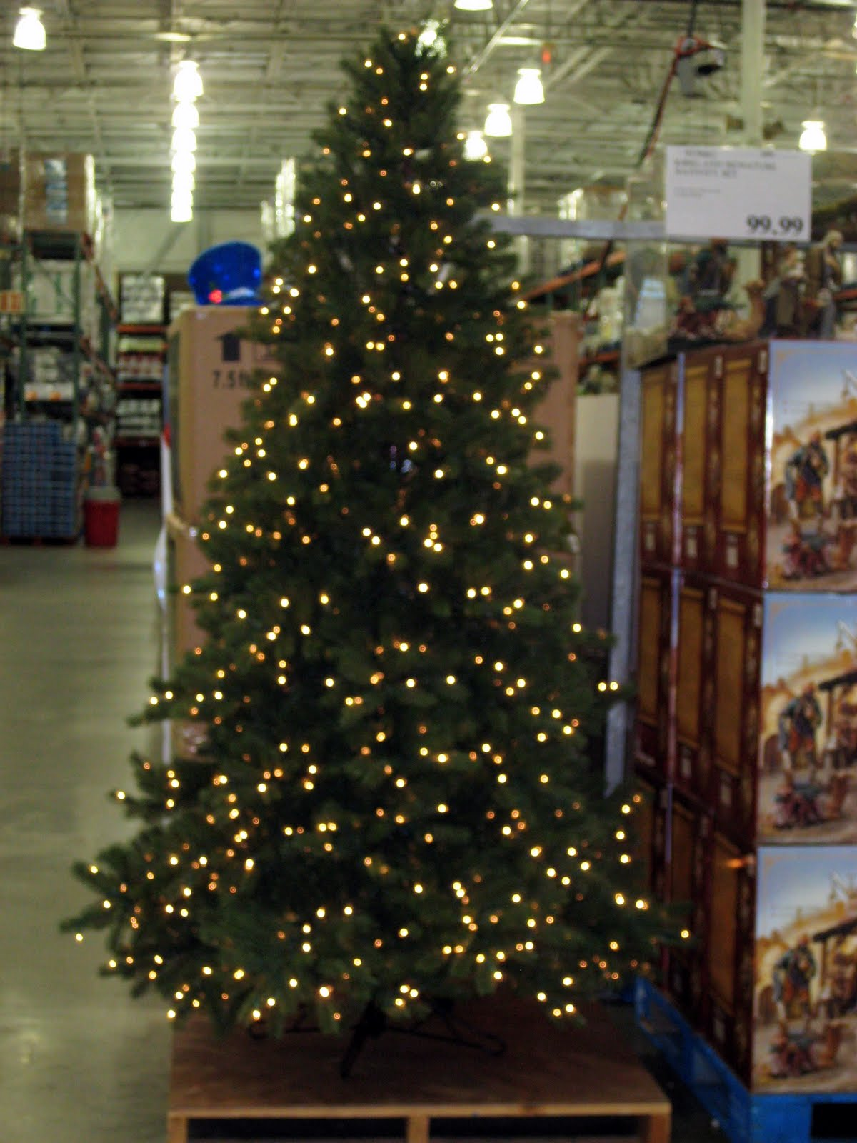 big red EP: Christmas at Costco