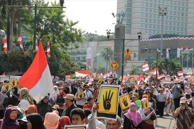Rakyat Indonesia Kutuk Pembantaian di Mesir