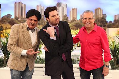 Explicadinho (Marcelo), Danilo e Carlos (Crédito: Leonardo Nones/SBT)