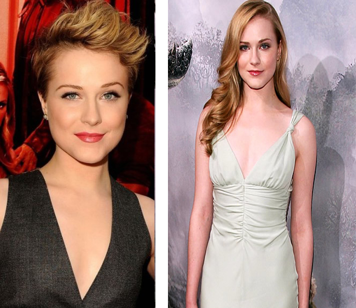 Short Hairstyles Evan Rachel Wood