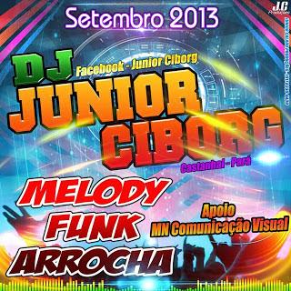 Melody / Funk / Arrocha / Dj.Junior Ciborg Vol 09 Setembro 2013