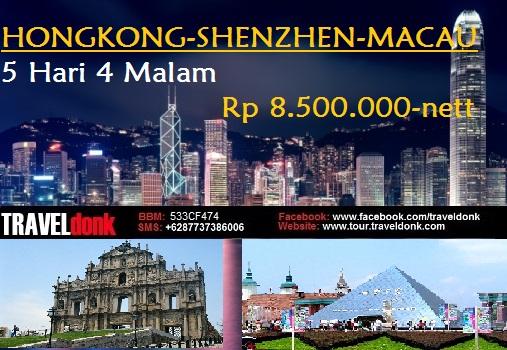 Paket Tur ke Hongkong, Macau & Shenzhen