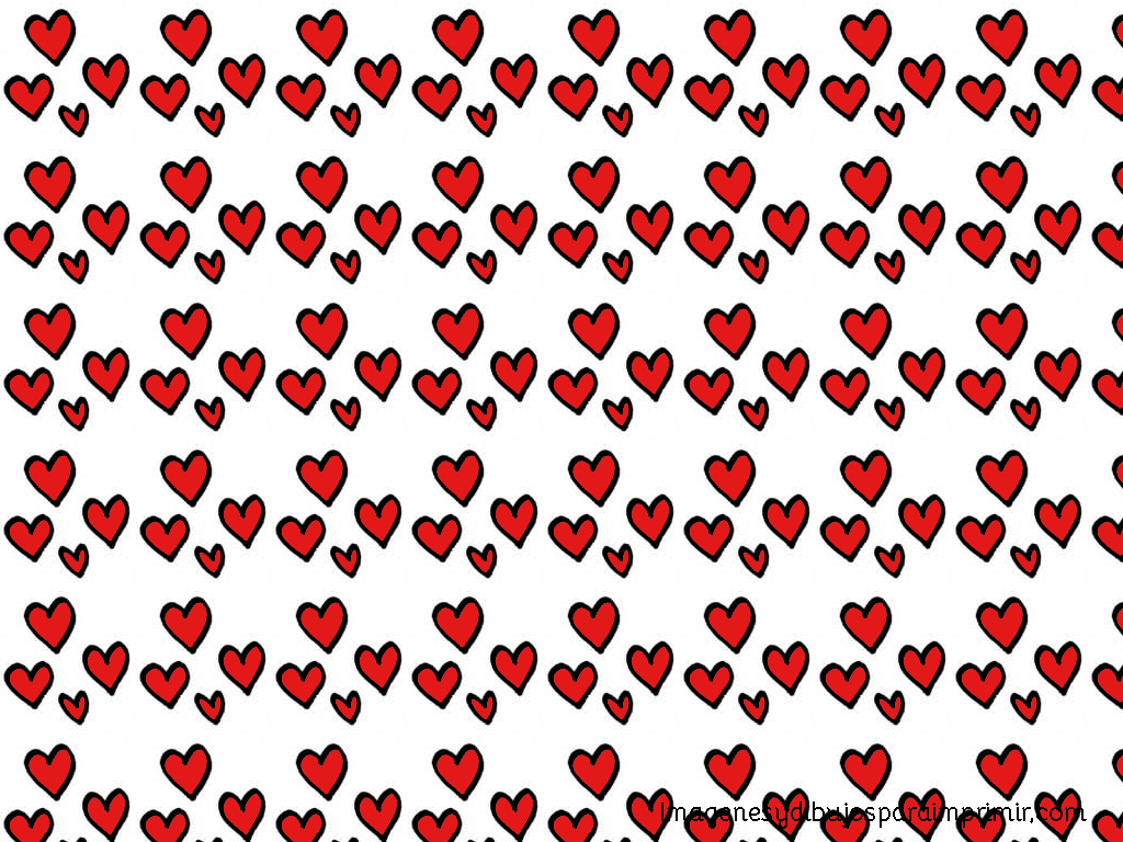 Decorar con corazones para imprimir