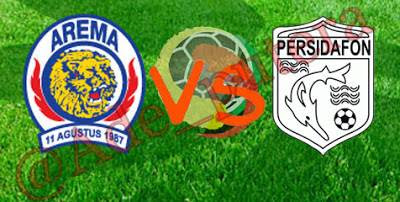 Arema vs Persidafon Liga Indonesia ISL Rabu, 9 Januari 2013