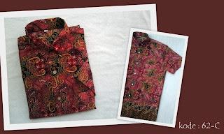 Baju Batik Pria 62C