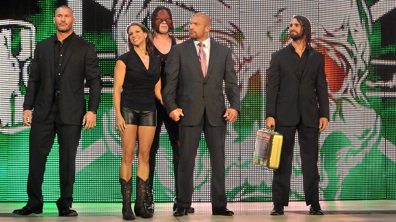 Randy Orton Stephanie McMahon Kane Triple H Seth Rollins