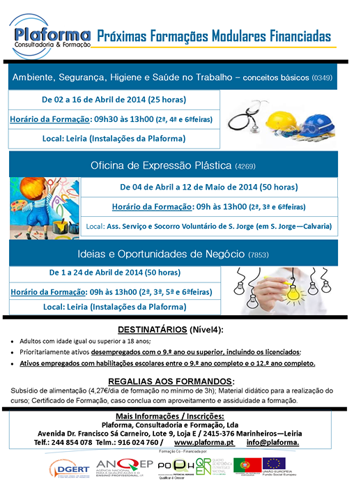 Formação modular certificada – Leiria (2014)