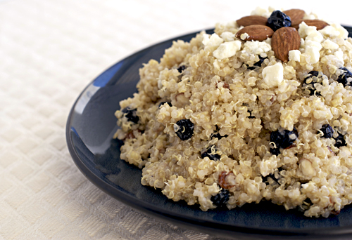 Blueberry Feta Quinoa