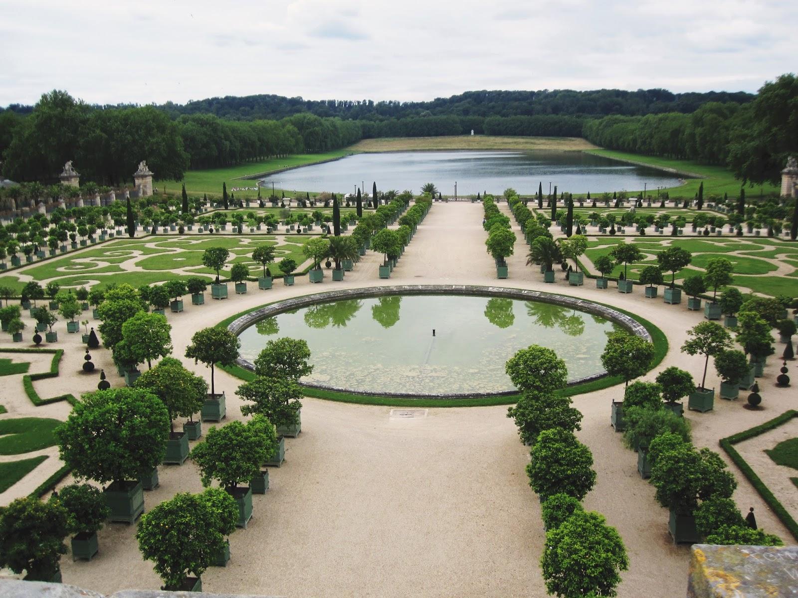 Belle rebelle versailles les jardins for Jardin versailles