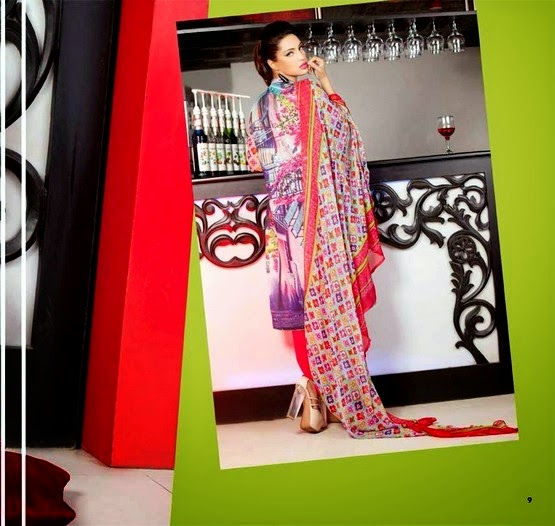 La Reina Digital Lawn Collection 2014 by Shariq