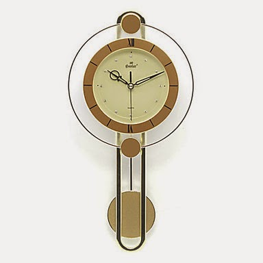Reloj de pared p ndulo moderno relojes de pared for Relojes decorativos para salon