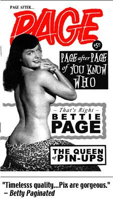 Page After Page Photozine (2008), 56-pages