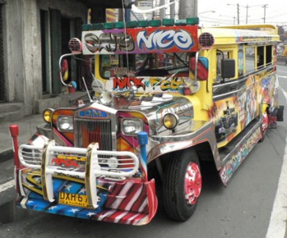 Jeepney Bus from the Philippines - Art Car Central