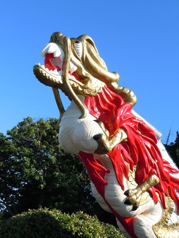 SS Empress dragon figurehead Stanley Park