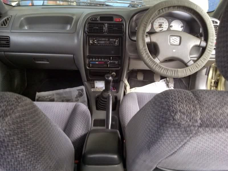 modifikasi interior suzuki baleno