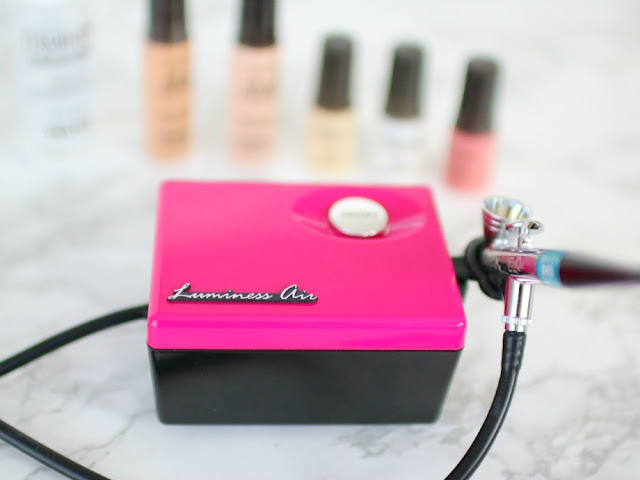 luminess airbrush makeup review