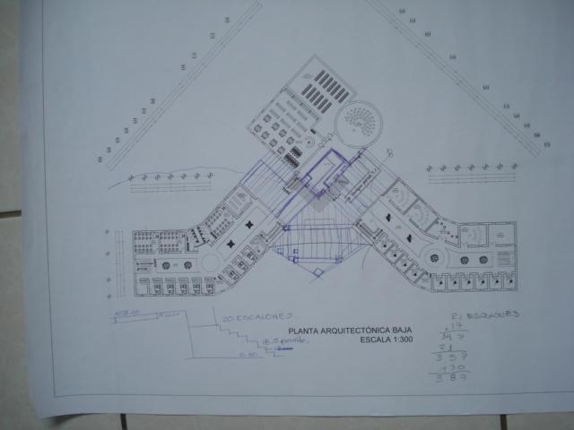 Proceso de dise o arquitect nico de una escuela superior for Planta arquitectonica con medidas