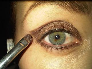 mac brown eyeshadow