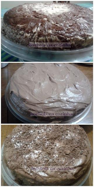 bolo diet de chocolate para chocólatras