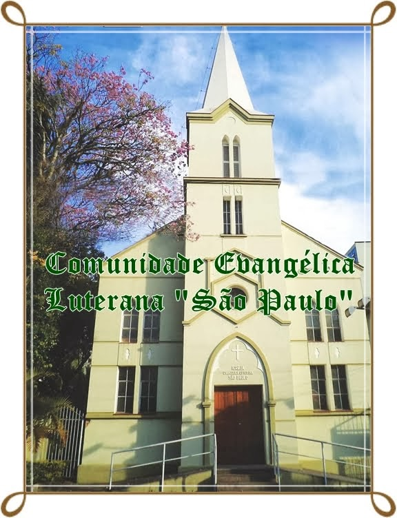 Foto panorâmica da Igreja