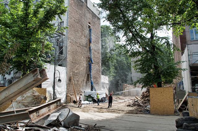 Baustelle Abriss, Wittenbergplatz 3, 10789 Berlin, 04.06.2014