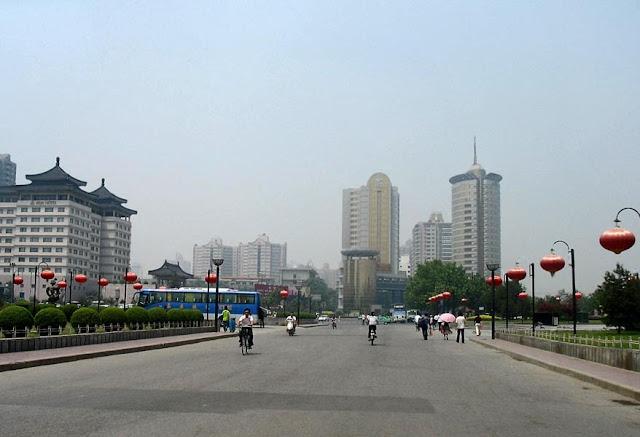 roads in Xian