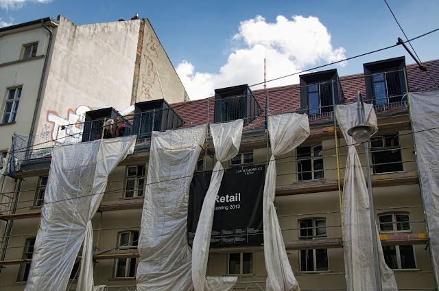 Baustelle Altbausanierung, Münzstraße 21-23, 10178 Berlin, 16.08.2013
