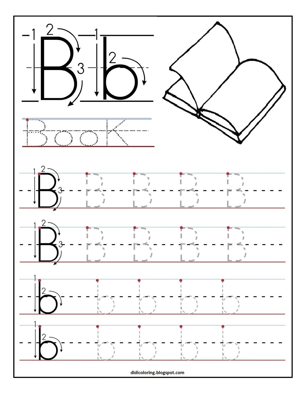 how to write a letter for kids worksheets