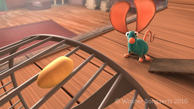 """mouse for sale"" animated short film by Wouter Bougaerts"
