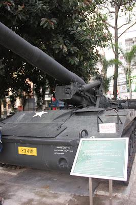 Obus M107 usado en la guerra de Vietnam