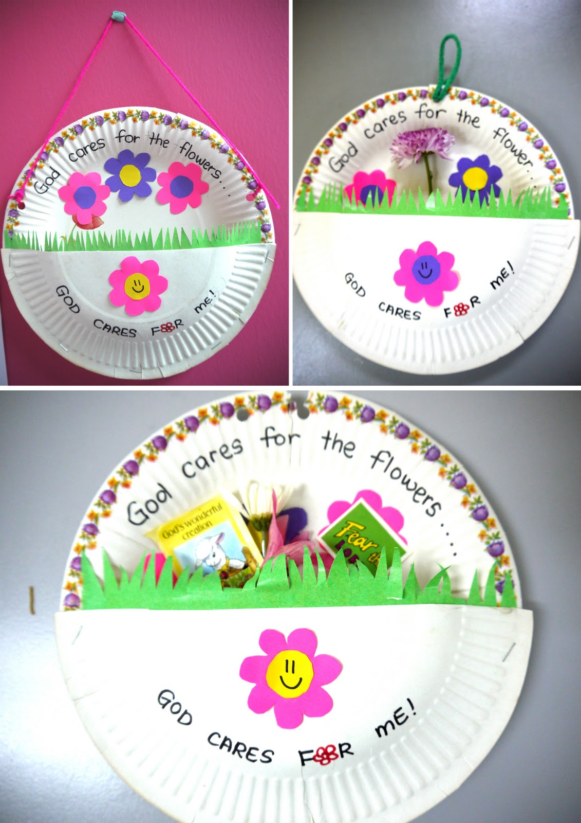 Growing kids in grace do not worry pt 2 for Bible school crafts for toddlers