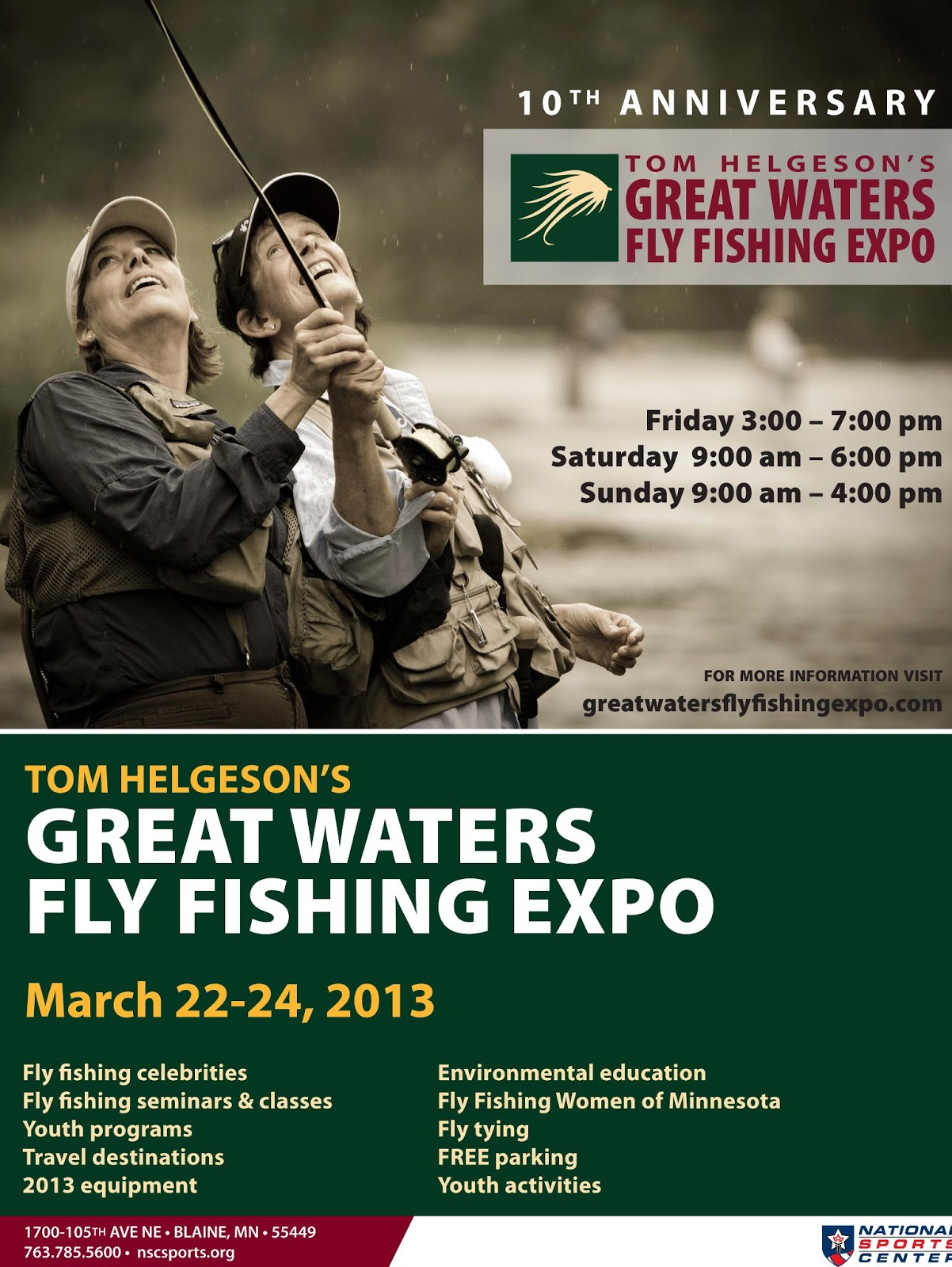 2013 Great Waters Fly Expo
