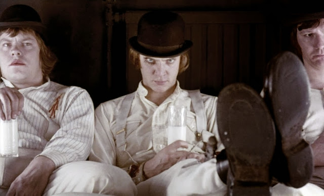 A Clockwork Orange droogs